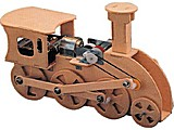 MAQUETA KIT TRAINMECH MADERA