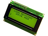 DISPLAY LCD SERIE + I2C 4 X 20 LCD05