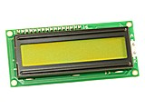 MODULO LCD I2C Y SERIE  2 X 16 LCD03 VERDE