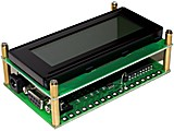 LCDX MICROCONTROLADOR BASICX CON DISPLAY LCD